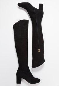L'Autre Chose - Kozačky nad kolena - black - 3