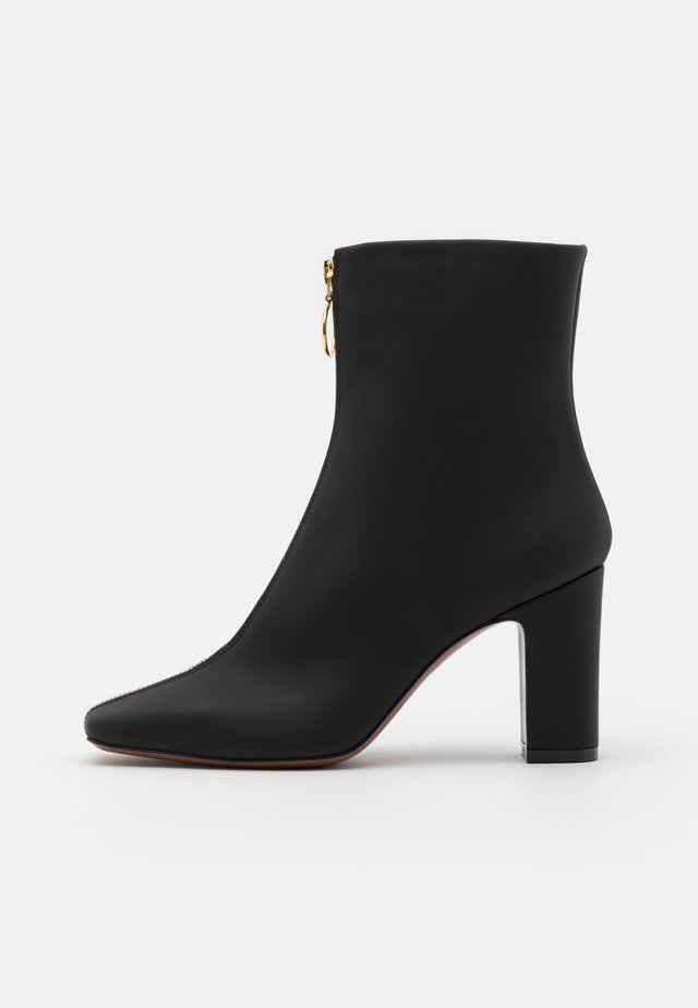 ZIP - High heeled ankle boots - black