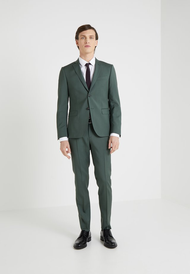 SLIM FIT - Garnitur - olive