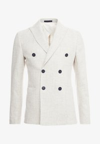 Lab Pal Zileri - DOUBLE BREASTED BLAZER - Giacca - beige - 3