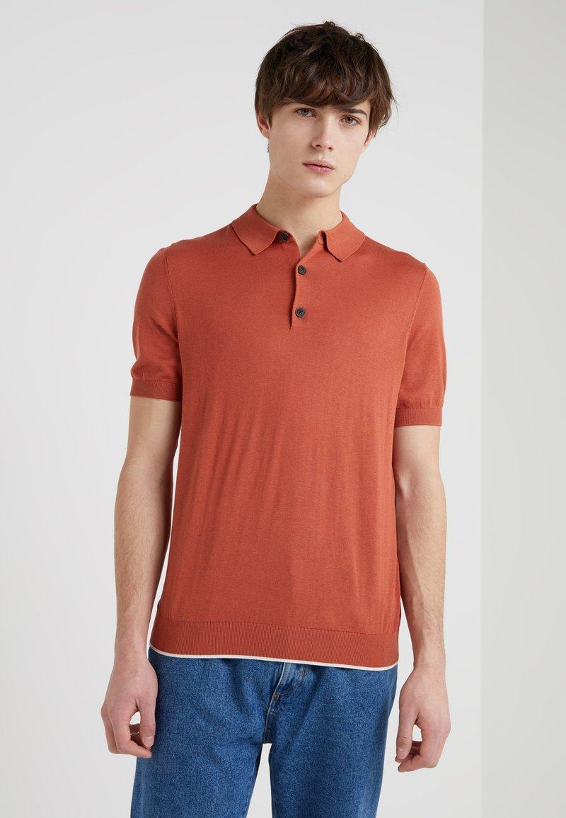 Lab Pal Zileri - Poloshirt - mottled orange