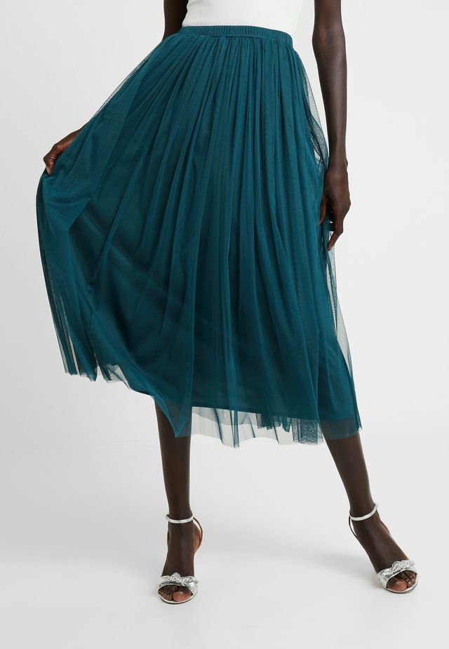 MERLIN SKIRT - Áčková sukně - green