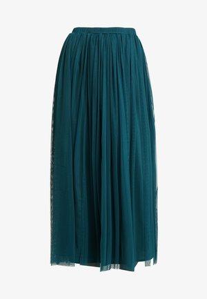 MERLIN SKIRT - Spódnica trapezowa - green