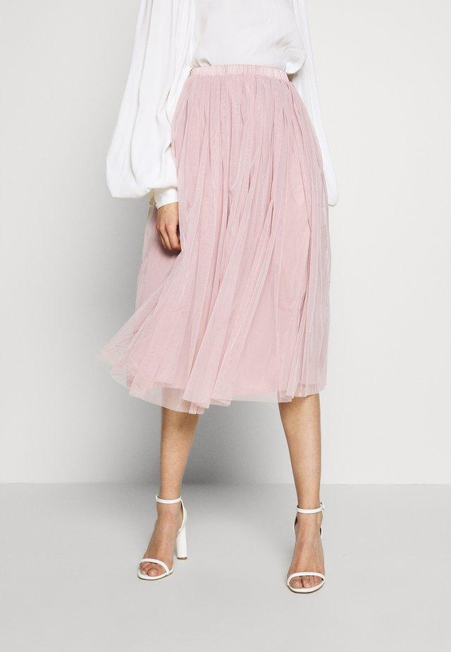 VAL SKIRT - Spódnica trapezowa - pink