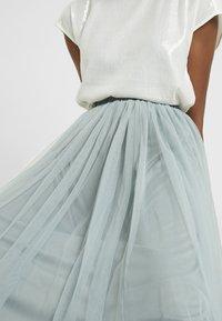 Lace & Beads Tall - VAL SKIRT - A-line skjørt - teal - 4