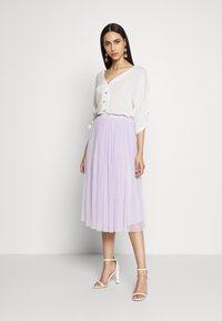 Lace & Beads Tall - VAL SKIRT - A-line skirt - lilac - 1