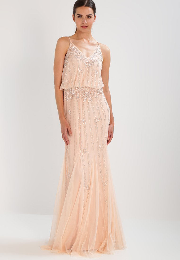 Lace & Beads Tall - KEEVA  - Occasion wear - nude