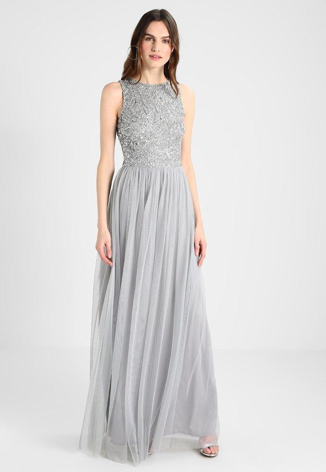 PICASSO LEAF MAXI - Společenské šaty - grey