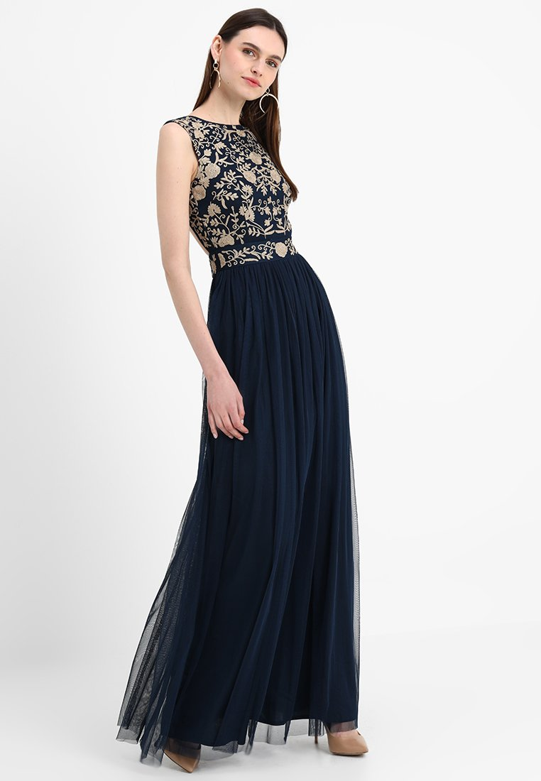 Lace & Beads Tall - ANDORA MAXI - Occasion wear - navy