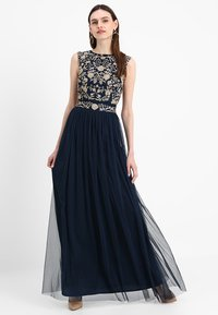 Lace & Beads Tall - ANDORA MAXI - Occasion wear - navy - 1