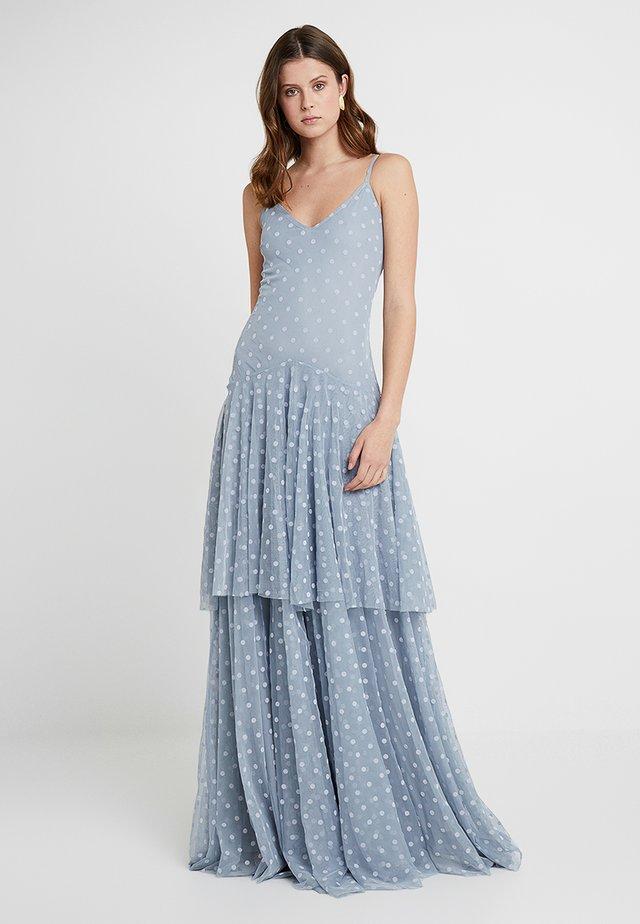 DIANA MAXI - Společenské šaty - blue