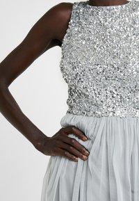 Lace & Beads Tall - PICASSO MAXI - Společenské šaty - grey - 6