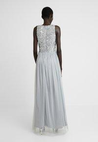 Lace & Beads Tall - PICASSO MAXI - Společenské šaty - grey - 3