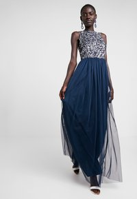 Lace & Beads Tall - PICASSO MAXI - Iltapuku - navy - 1