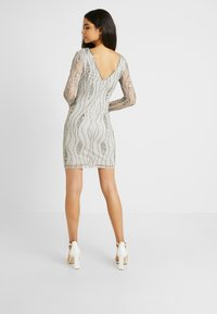 Lace & Beads Tall - BROOKLYN DRESS - Cocktail dress / Party dress - grey - 3