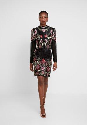 DELILAH DRESS - Cocktail dress / Party dress - black iridescent