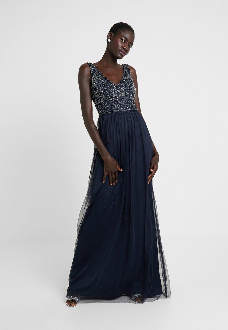Lace & Beads Tall - KREESHMA - Společenské šaty - navy