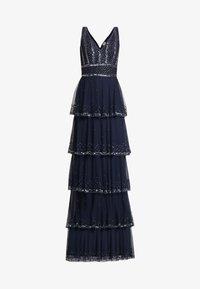 Lace & Beads Tall - MULAN LISHKY MAXI - Vestido de fiesta - navy - 7