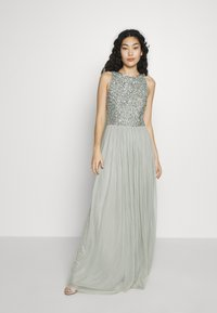 Lace & Beads Tall - BEATRICE MAXI  - Iltapuku - sage - 1