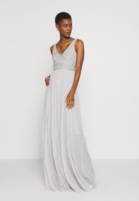 Lace & Beads Tall - MUMULAN MAXI - Vestido de fiesta - light grey - 0