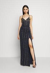 Lace & Beads Tall - MUNA MAXI TALL - Ballkjole - navy - 0