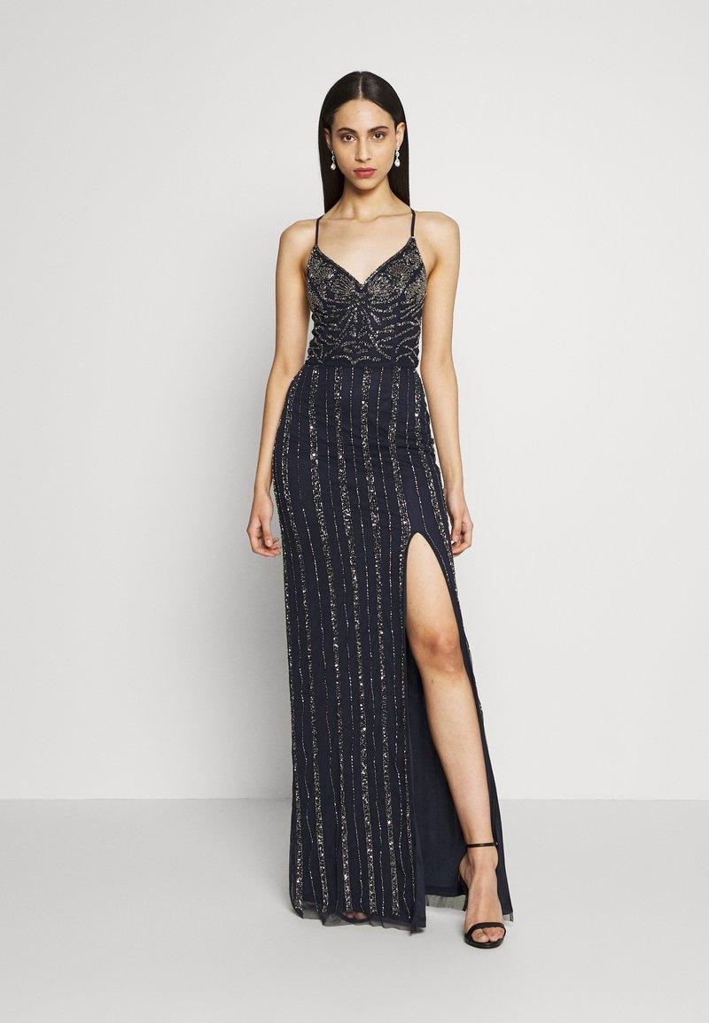 Lace & Beads Tall - MUNA MAXI TALL - Ballkjole - navy