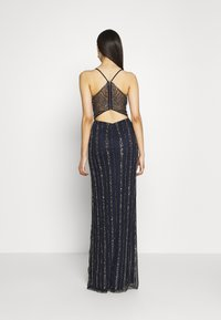 Lace & Beads Tall - MUNA MAXI TALL - Ballkjole - navy - 2