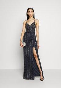 Lace & Beads Tall - MUNA MAXI TALL - Ballkjole - navy - 1