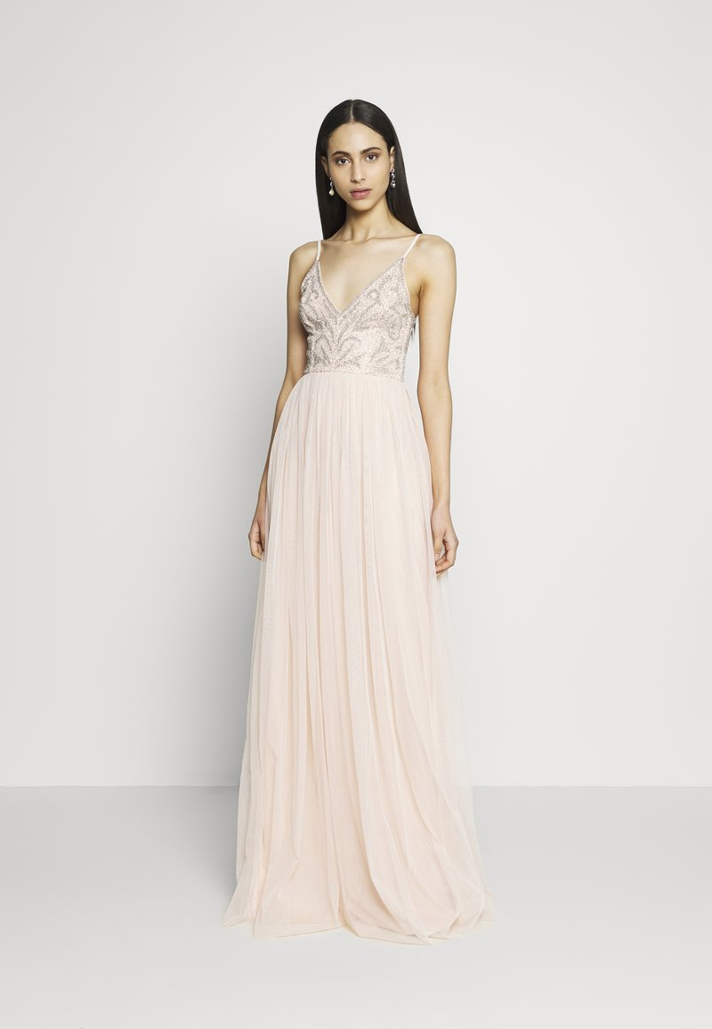 Lace & Beads Tall - SERAPHINA  - Occasion wear - blush