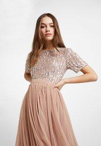 Lace & Beads Petite - VAL SKIRT - A-line skjørt - mink - 3