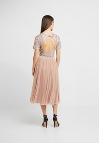 Lace & Beads Petite - VAL SKIRT - A-Linien-Rock - mink - 2