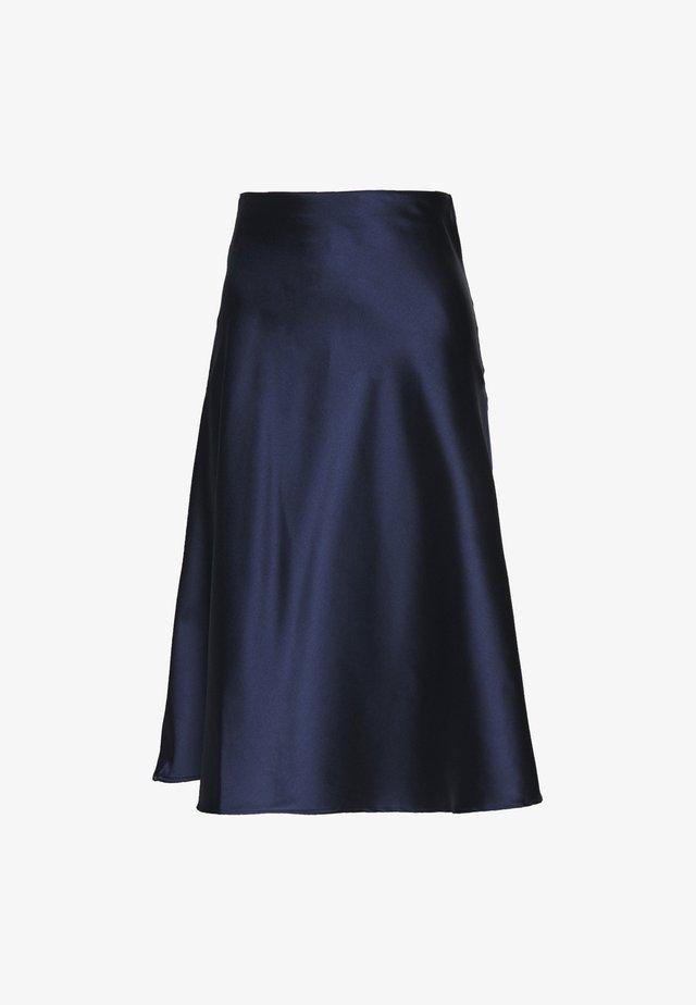 SOPHIE MIDI SKIRT PETITE - A-line skirt - navy