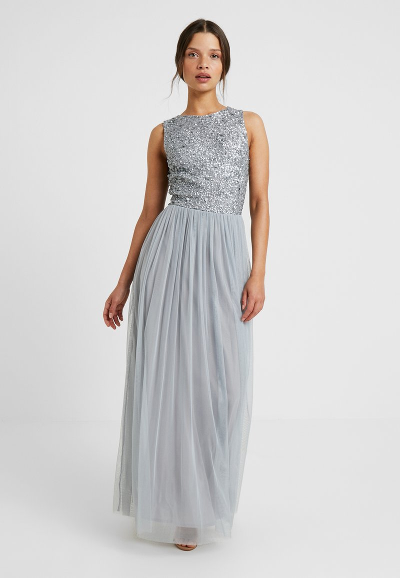 Lace & Beads Petite - PICASSO - Occasion wear - grey