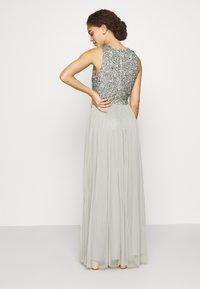 Lace & Beads Petite - PICASSO - Společenské šaty - sage - 2