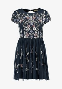Lace & Beads Petite - NINA DRESS - Cocktailklänning - navy - 5