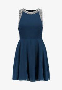 Lace & Beads Petite - DUNYA DRESS - Robe de soirée - navy - 4