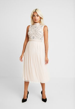 KUSHI MIDI - Cocktail dress / Party dress - nude