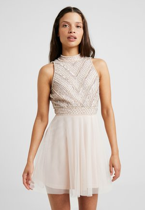 SUELLEN DRESS - Cocktailkjole - nude