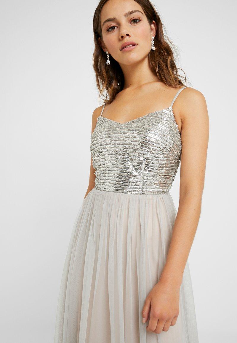 Lace & Beads Petite - MOLLY DRESS - Iltapuku - silver as sample