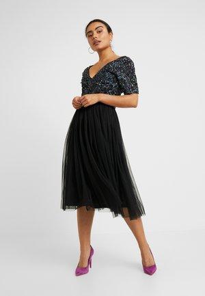 CHANDLER - Vestido de cóctel - black iridescent