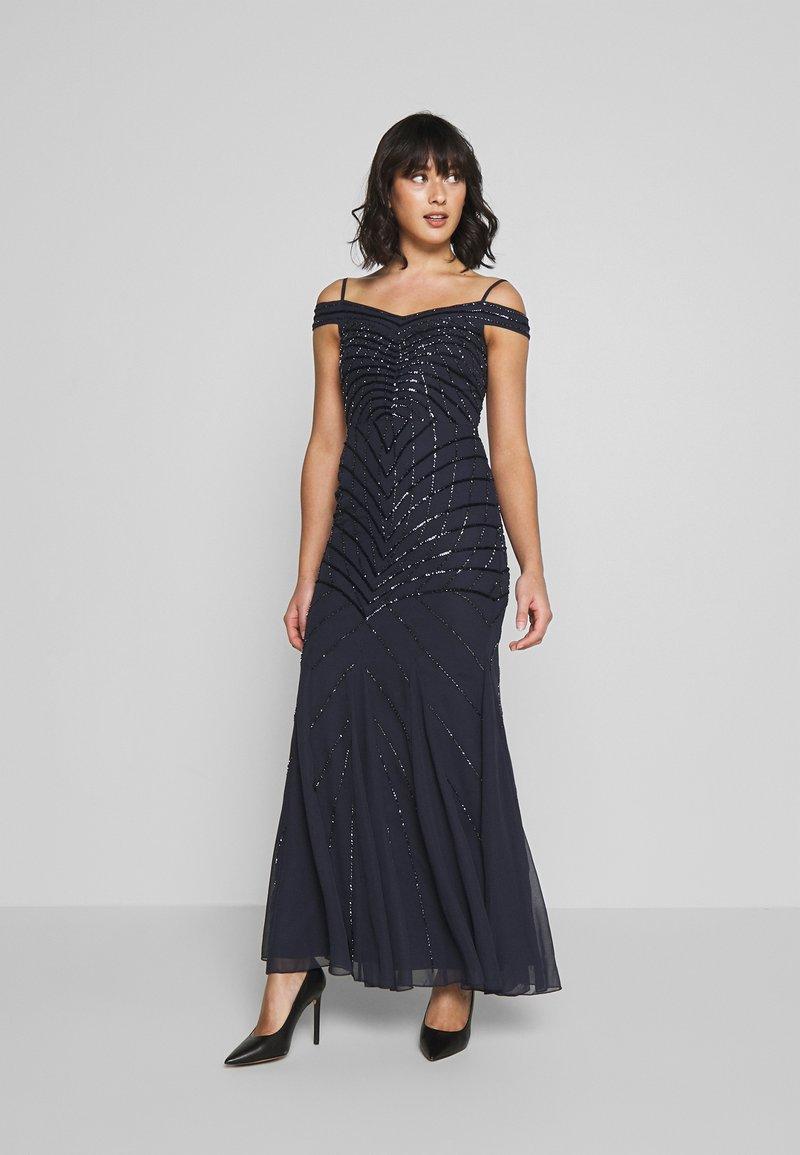 Lace & Beads Petite - KATERINA - Festklänning - navy