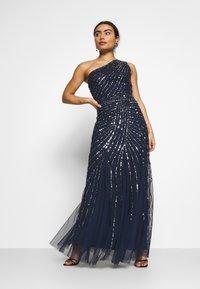 Lace & Beads Petite - ROSE MAXI - Vestido de fiesta - navy - 1