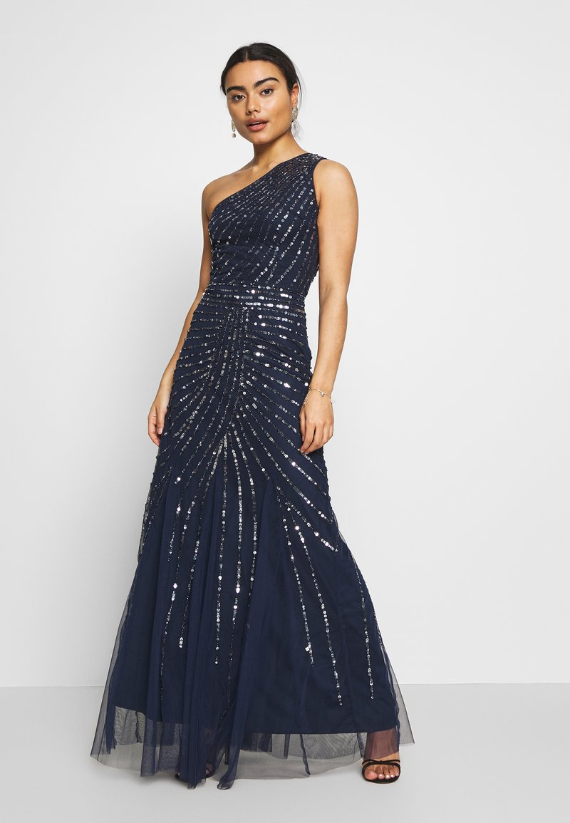 Lace & Beads Petite - ROSE MAXI - Vestido de fiesta - navy