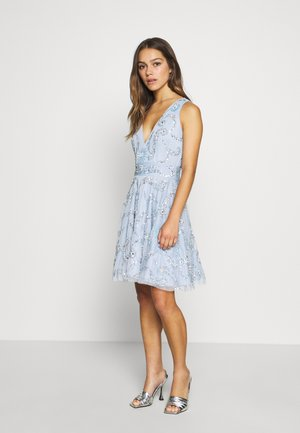 AMARIS DRESS - Vestito elegante - light blue