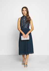 Lace & Beads Petite - ANETE DRESS - Juhlamekko - navy - 1
