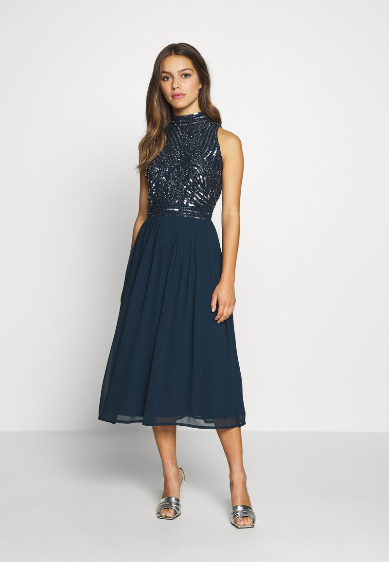 Lace & Beads Petite - ANETE DRESS - Juhlamekko - navy