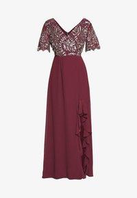 Lace & Beads Petite - JANI  - Suknia balowa - burgundy - 4