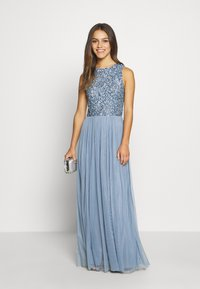 Lace & Beads Petite - PICASSO DRESS - Festklänning - blue - 1