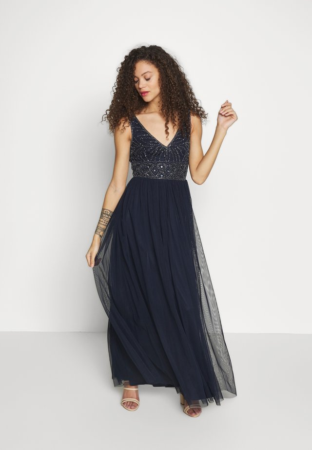 MUMULAN MAXI - Robe de cocktail - navy