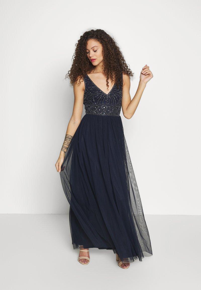 Lace & Beads Petite - MUMULAN MAXI - Vestido de fiesta - navy